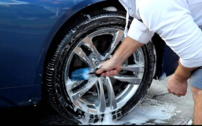 The Best Way to Clean Rims and Tires